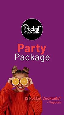 Party Catering Wien | Pocket Cocktails einfach nach Hause bestellen