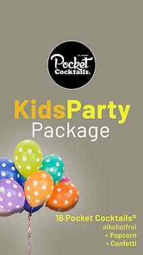 Kids Party, Kindergeburtstag Ideen Wien | Pocket Cocktails alkoholfrei bestellen