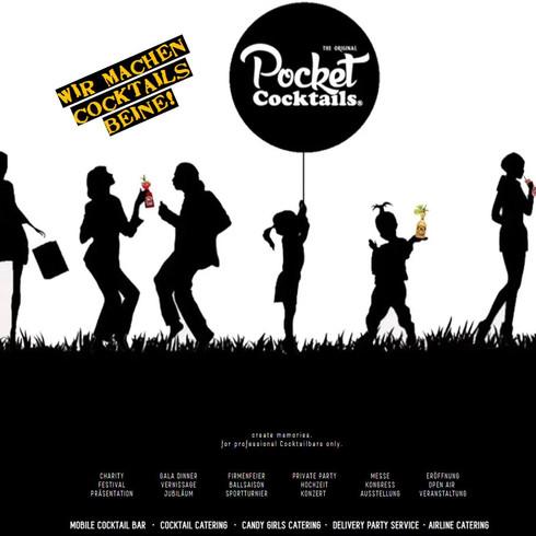 Pocket Cocktails - We give cocktails legs