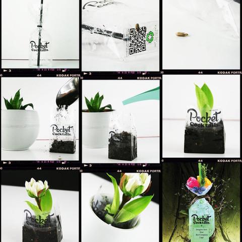 Pocket Cocktails willst mich pflanzen Sustainability