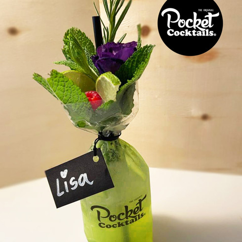 Rosemary Fizz to go | Pocket Cocktails Wien liefern