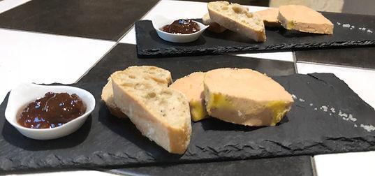 table d'hôte Ilot-Vignes Foie gras
