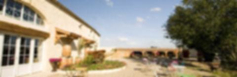 La terrasse de l'Ilot-Vignes.
