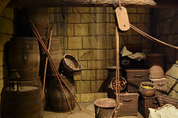 old ship making instruments