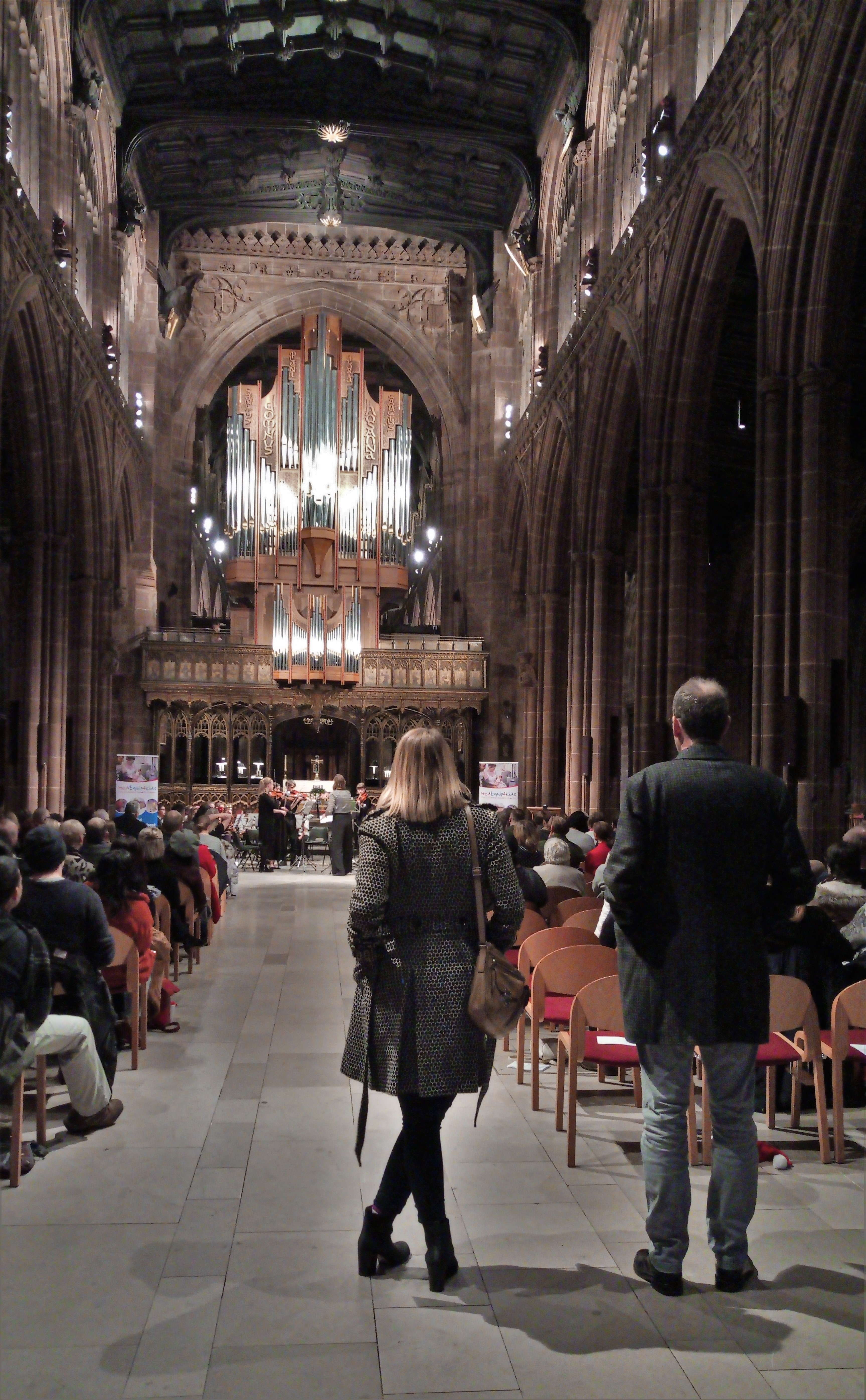 Manchester Catedral Concert