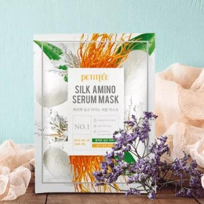 Petitfee Silk Amino Serum Mask (1EA/ 3EA/ 5EA)