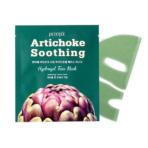 Petitfee Artichoke Soothing Hydrogel Face Mask (1EA/ 3EA/ 5EA)