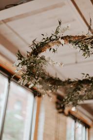 Hanging Wedding Arrangements
