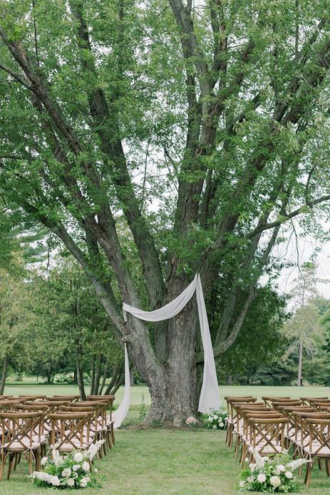 Outdoor Ceremony Tree Altar