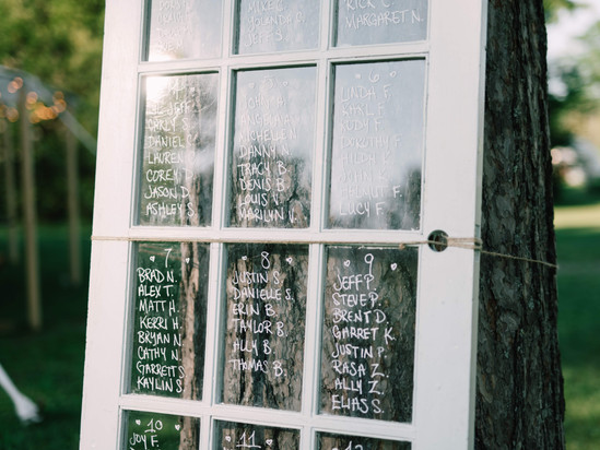 French Door Seating Chart