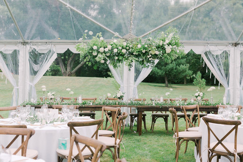 Clear Tent Wedding in PEC