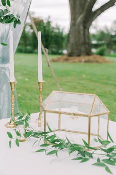 Gold Card Box Wedding