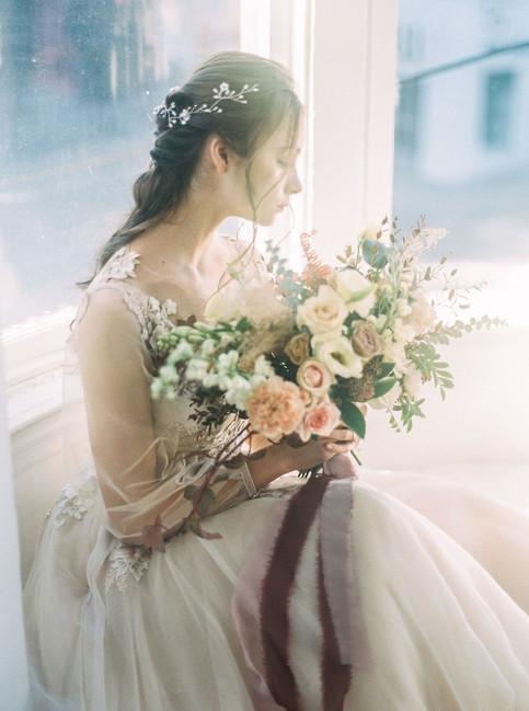 Briar Rose Wedding Bouquet