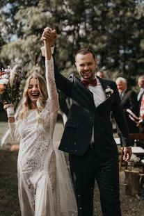 Boho Wedding Ceremony for Travel Blogger Couple