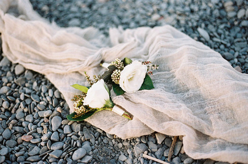 Boutonniers for waterfront wedding Toronto