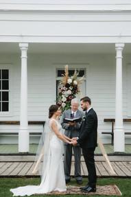 Geometric Wedding Altar Ideas