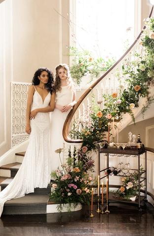 Spring Garden Wedding with Two Brides