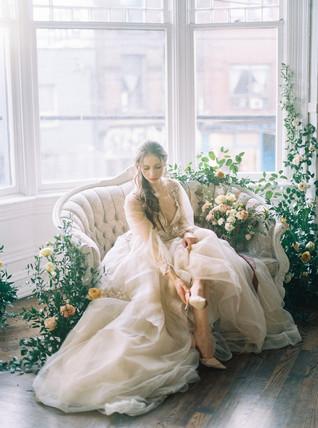 Dreamy Briar Rose Wedding