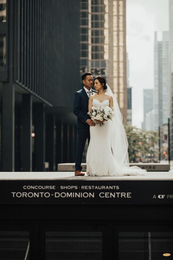Urban Wedding in Toronto