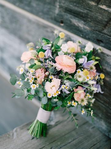 Summery Bridal Bouquet