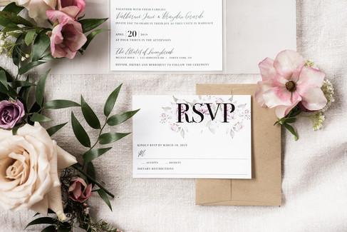 Spring Wedding Invitation Suite