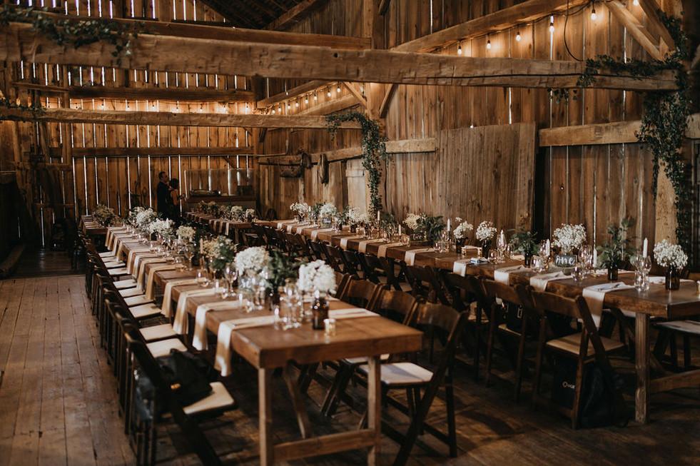 Boho Barn Wedding