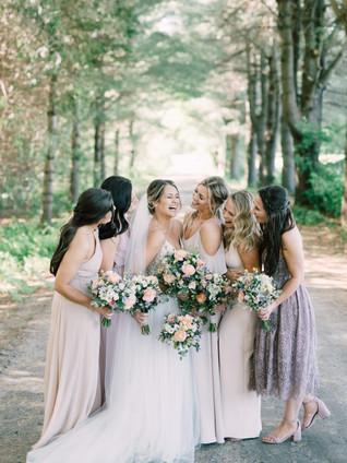 Light Lavender Bridesmaids