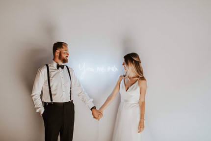 Fluorescent Wedding Signage | Toronto Wedding Planner