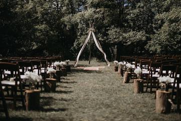 Boho Wedding Ceremony