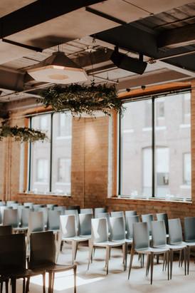 Ceremony at 2nd Floor Events | Toronto Wedding Planner