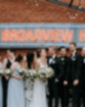 Broadview Hotel Rooftop Wedding