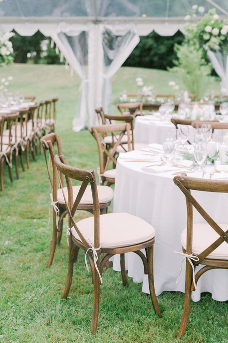 Clear Span Tent Wedding in PEC