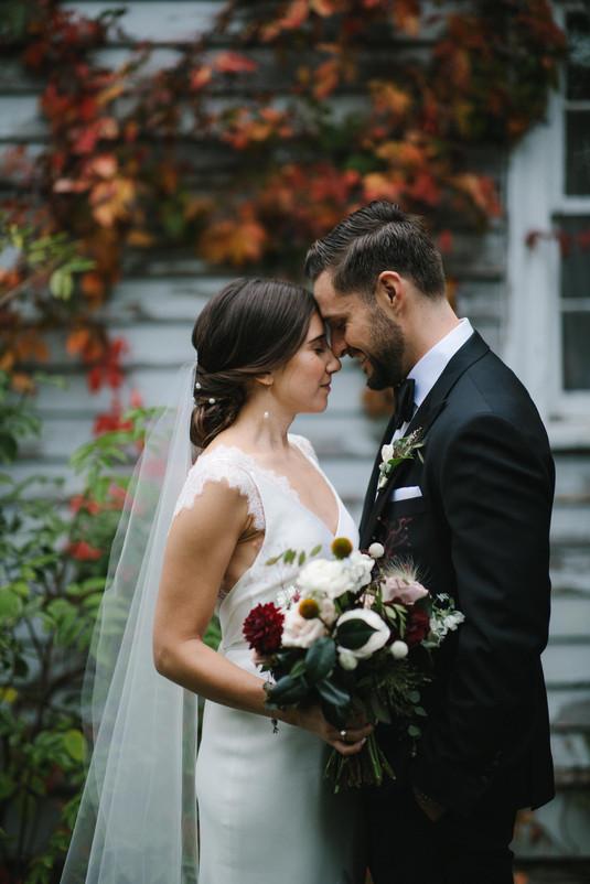 Fall Wedding in Toronto