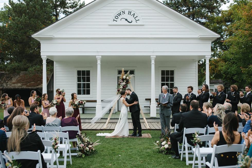 Outdoor Sepetember Wedding Toronto