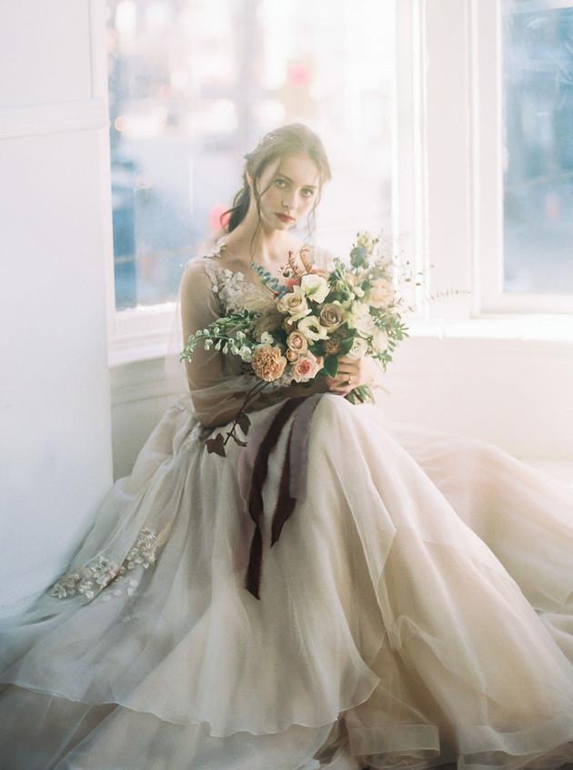 Briar Rose inpsired Wedding Bouquet