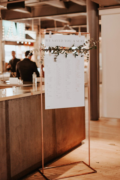 Copper Seating Chart | 2nd Floor Events