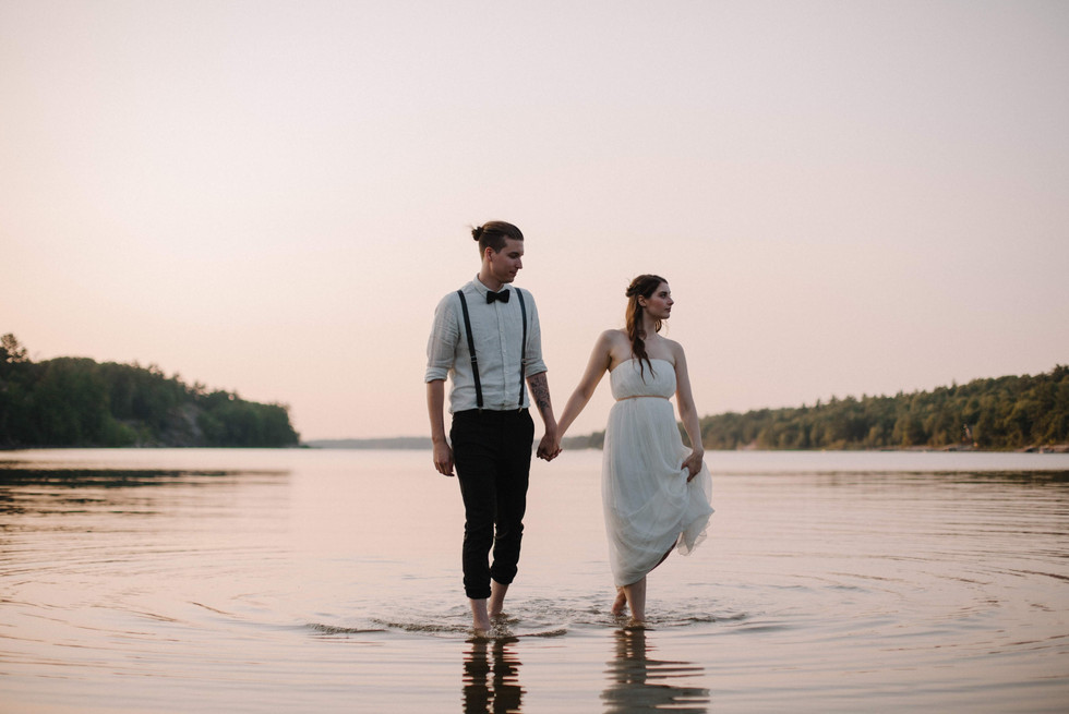 Waterfront Wedding in Muskoka