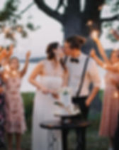 Intimate Wedding in French River