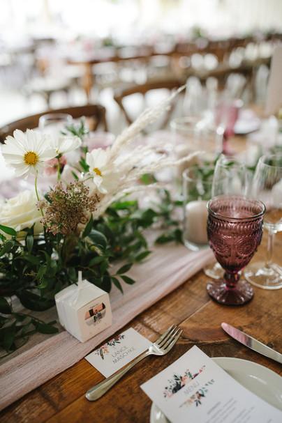 soft mauve wedding palette
