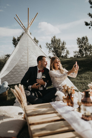 Boho Wedding for the Lost Two