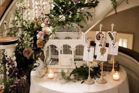 Secret Garden inspired wedding