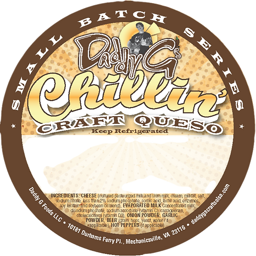 Chillin' Craft Queso - Small Batch Series