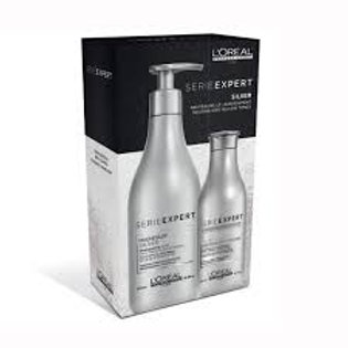 Silver Magnesium Duo- Shampoo + Conditioner