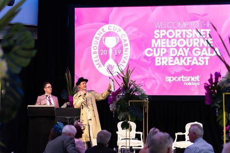 Melbourne Cup Day Gala Breakfast - Sportsnet