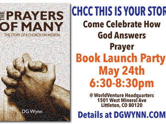 MAY 24TH BOOK LAUNCH BASH