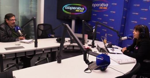 Director de la Corporación habla en Radio Cooperativa