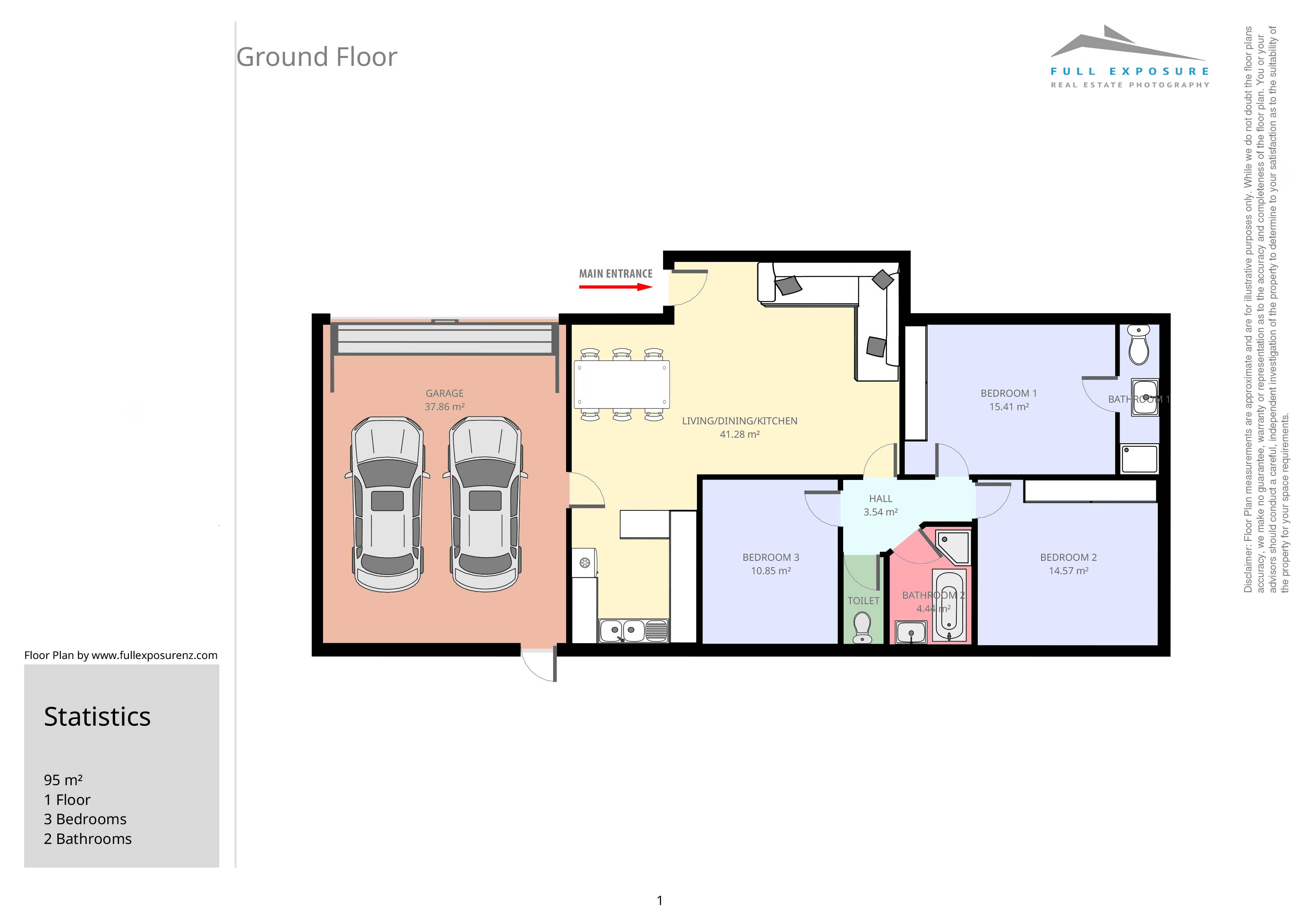 72b-Manuroa-Road-(Floor-Plan-in-Colour)