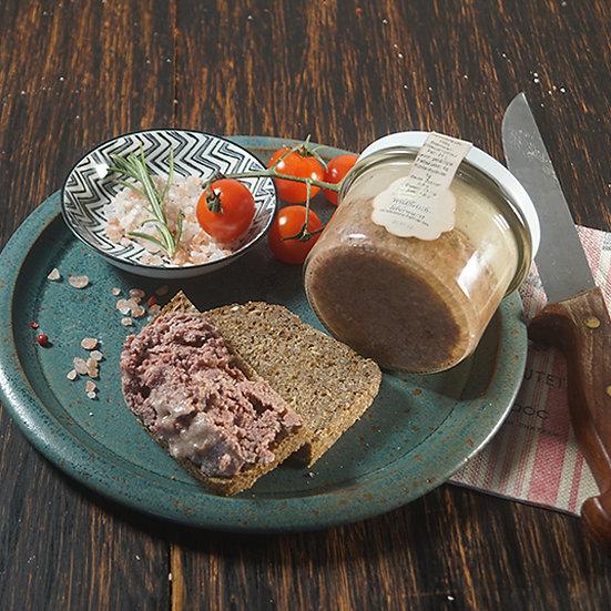 Wildfleisch-Leberwurst