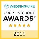 Officiant Amber received the 2019 WeddingWire Couples Choice award for best wedding officiant in North Dakota