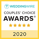 Officiant Amber received the 2019 WeddingWire Couples Choice award for best wedding officiant in Minnesota
